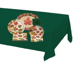 81-piece Colors of the Wind Thanksgiving Tableware Kit – Hunter Green - €23,68 EUR