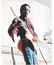 Jimi Hendrix Monterrey MM Vintage 11X14 Matted Color Music Memorabilia Photo - $14.99