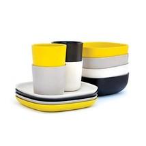 EKOBO Bamboo 12-piece Breakfast Set, Gift Box, BIOBU Eco-material, Indoo... - $73.04
