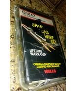 WELLS Q1847 6 Cylinder custom set spark plug wire set         UPC # 0258... - $9.89