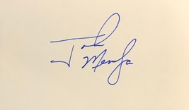 John Mendoza Autographed Hand Signed 3x5 Index Card Two And A Half Men w/COA - $12.99