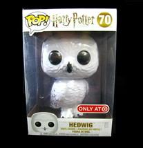 """Harry Potter Owl POP! Movies Hedwig Target Exclusive 10"""" Vinyl Figure #7... - $39.59"""