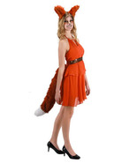 Deluxe Oversized Red Fox Tail Cosplay Halloween Costume Accessory, NEW U... - $24.18