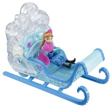 Frozen Disney Princess Swirling Snow Sleigh Vehicle/Princess Anna Doll M... - €27,10 EUR