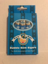 It's a Boy Bubble Gum Cigars 5ct Birth Announcement Gum Cigars NEW - $5.93