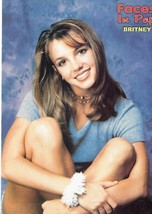 Britney Spears teen magazine pinup clipping Tiger Beat Bop Teen Beat Young