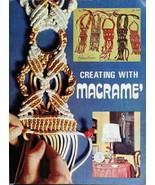 Creating with Macrame - Vintage macrame book - Digital download in PDF F... - $5.00