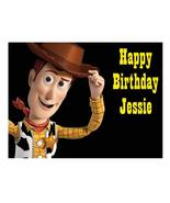 Toy Story Woody Edible Cake Image Cake Topper - $8.98+