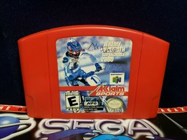 JEREMY MCGRATH SUPERCROSS 2000 Nintendo 64 - $4.00