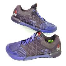 Reebok Crossfit Nano 4.0 CF74 Women 7 Athletic Shoes Sneaker Purple Trai... - $31.99