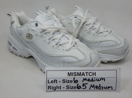 MISMATCH Skechers D'Lites Size 6 M (B) Left & Size 6.5 M (B) Right Women's Shoes
