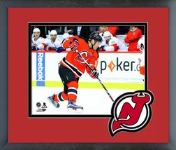 Taylor Hall New Jersey Devils 2016-17 Ice Action -11x14 Logo Matted/Framed Photo - $42.95