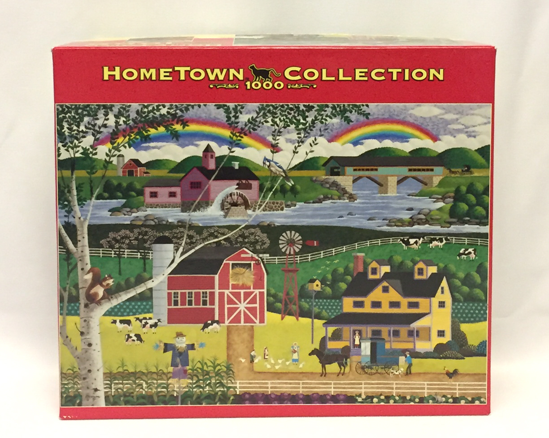 Heronim Harry Wysocki jigsaw puzzle Rainbows 1000 piece htf