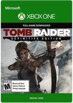 Tomb Raider: Definitive Edition xbox ONE game Full download card code [D... - $17.44