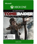 Tomb Raider: Definitive Edition xbox ONE game Full download card code [D... - $24.99