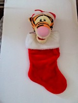 Tigger Christmas Stocking.New Disney Parks Minnie Mouse Plush Holiday And 20 Similar Items