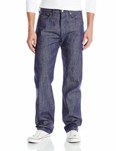 Levi's Strauss 501 Men's Shrink To Fit Straight Leg Raw Denim Jeans 501-2225