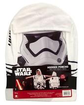 Star Wars Episode 7 Storm Trooper Cotton Hooded Towel - $14.95