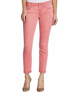 Jessica Simpson Women's Rolled Crop Skinny Jeans Pant Pink Sz 6/28 - $17.61