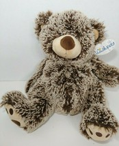 "Wishpets plush 2009 brown frosted teddy bear 11"" Pawee mink S. R. WIlliams - $12.86"