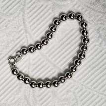 Napier Silver Tone Ball Bracelet - $11.29