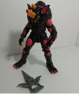 1993 Bandai Power Rangers Rhino Blaster Evil Alien 8 inch Figure with we... - $14.84