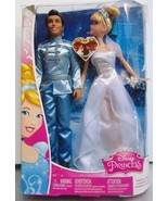 "Disney Princess ~ Cinderella & Princess Charming - 12"" Dolls - Mattel  New - $28.16"