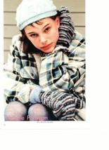 Natalie Portman teen magazine pinup clipping Japan magazine short black hair Bop