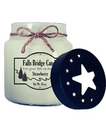Strawberry Scented Jar Candle, 16-Ounce, Star Lid - $11.00