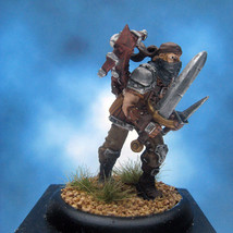 Painted Privateer Press Miniature Warmachine Croe's Cutthroat III - $44.70