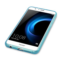 Element Cover Precision Moulded TPU Precision Gel Case  Blue Huawei Honor 8 - $12.60
