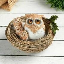 "Figurine polystone ""Family of owls"". - $33.05"