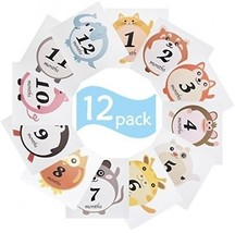 Meetory Baby Monthly Stickers, Baby First Year Month Age Growth Milesto... - $23.22