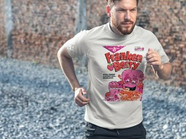 Franken Berry Dri Fit graphic T-shirt microfiber monster cereal Sun Shirt 50 UPV image 2