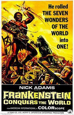 Primary image for Frankenstein Conquers The World - 1965 - Movie Poster