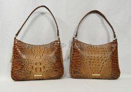 NWT Brahmin Noelle Leather Tote / Shoulder Bag in Toasted Almond Melbourne image 10