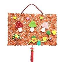 Environmental Nursery DIY Product Cloth and Rattan Plaited Style, 44x30cm image 1