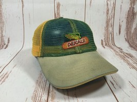 Dekalb Seed Corn Yellow Green Mesh Trucker SnapBack Hat - $11.83