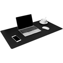 "TOWWI Leather Desk Pad Protector 34""x17"" Desk Blotter Pad, Waterproof Wr... - $22.23"
