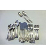 49 Pc WM Rogers IS TRIUMPH Silverplate Flatware Service for 8+ Extras AR... - $99.99