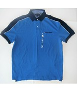 Tommy Hilfiger Mens Polo Shirt Blue Size Large NWT - $38.79