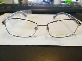Michael Kors MK362 033 Gunmetal Rx Eyeglasses Frame 54-16-135 ..New W/ Case - $58.41