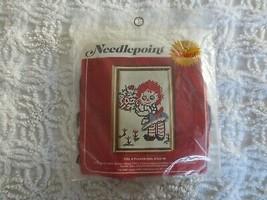 "Vintage Valiant FLOWER GIRL Needlepoint Sealed KIT #7701 -  6"" x 9"" - $11.88"