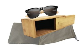 Bamboo sunglasses wooden Mens Womens Plastic Frame with Arms Eyewear - $19.53