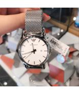 NWT Emporio Armani AR1812 Men's Classic Stainless Steel Quartz Watch $225 - $159.99