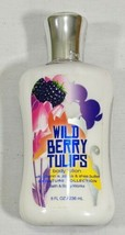 Bath & Body Works Wild Berry Tulip Signature Collection Body Lotion 8 oz  - $28.40