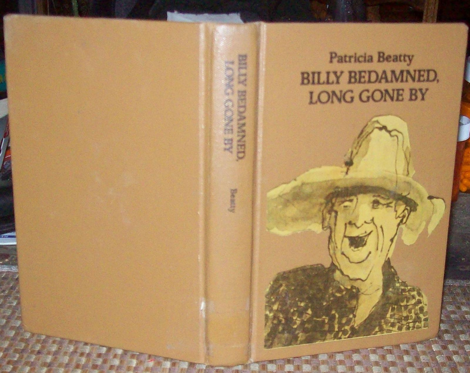 Billy Bedamned, Long Gone By by Patricia Beatty 1977 HB