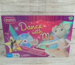 Angelina Ballerina Dance With Me CD Board Game Ballet Sealed Preschool D... - $19.55