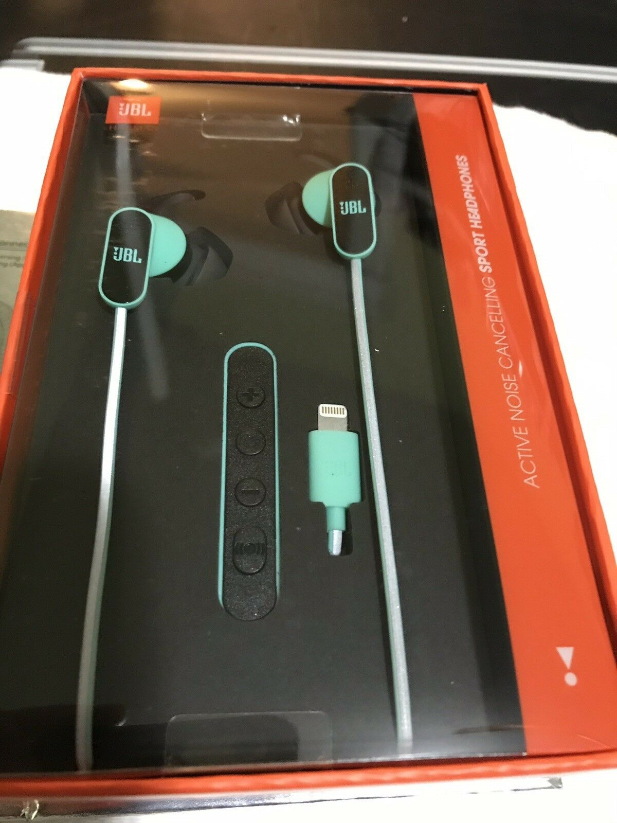 JBL Reflect Aware in-Ear Sport Headphones with Lightning (Teal) Brand New