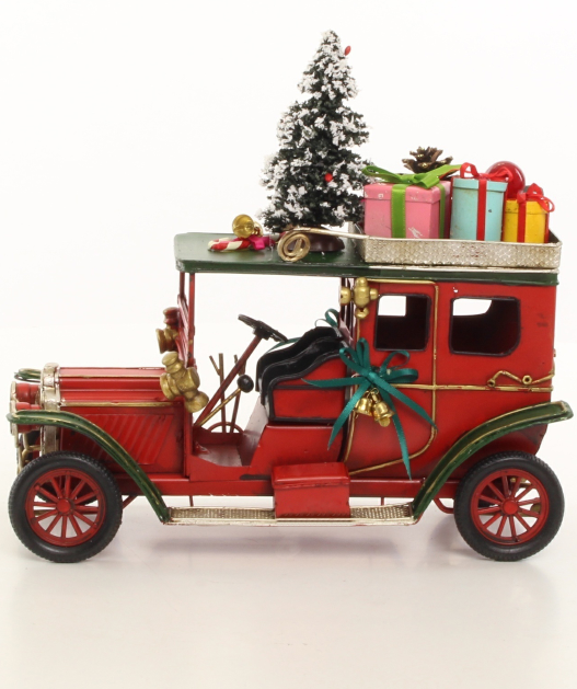 Primary image for Vintage Oldtimer, Christmas style, Locomotive Decor * Free Air Shipping
